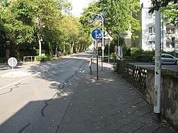 Heinrichstraße in Darmstadt