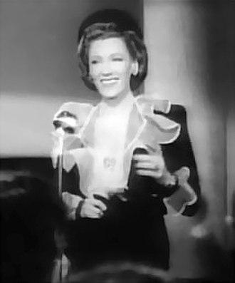 Helen Menken - from the film Stage Door Canteen (1943).