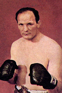 Henry Cooper English boxer