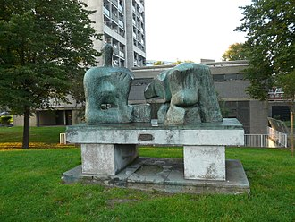 Brandon Estate - Reclining Figure No. 3 by Henry Moore