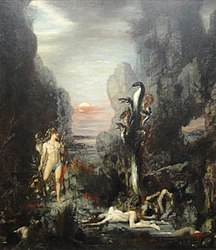 Gustave Moreau: Hercules and the Lernaean Hydra