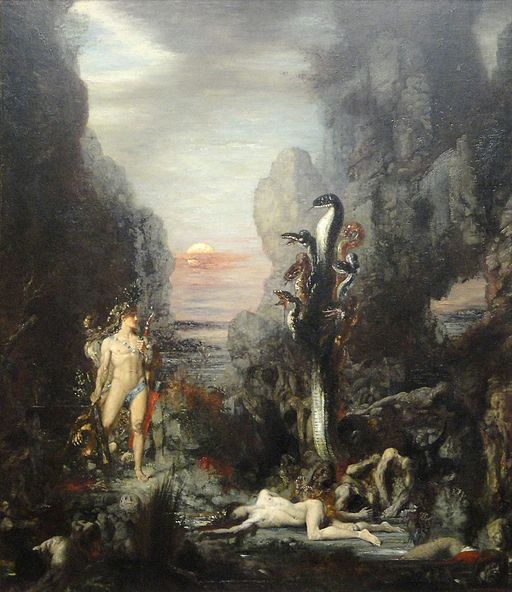 Hercules and the Lernaean Hydra, 1875-1876, by Gustave Moreau - Art Institute of Chicago - DSC09590