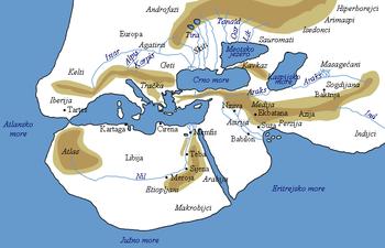 Amerika Gradovi Karta.Povijest Kartografije Wikipedija