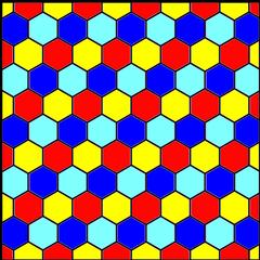 Hexagon Christmas Tree Skirt pattern - So Sew Easy