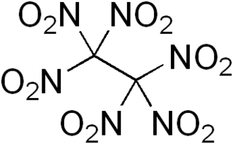 Hexanitroethane - Image: Hexanitroethane