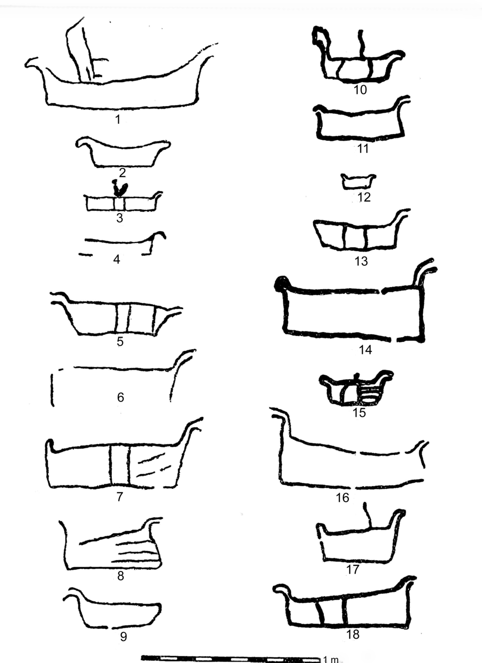Hide Boats Stone Age Norway 1