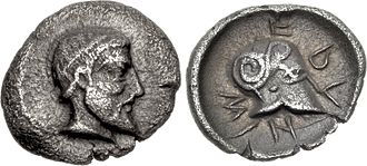 Litra - A litra from Sicily, ca. 430 BC.