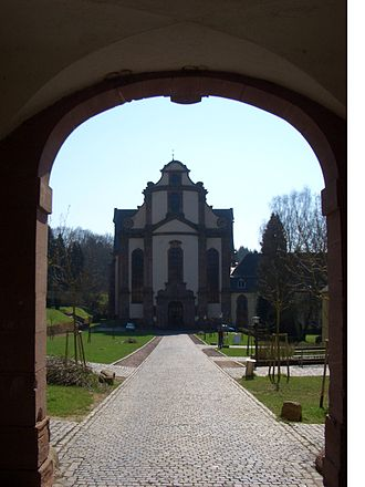 Himmerod Abbey - Himmerod Abbey, main entrance