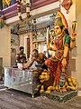 Hindu priests at Sri Mariamman Temple.jpg