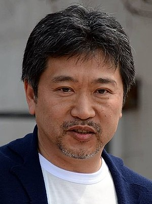 Hirokazu Kore-eda - Kore-eda at the 2015 Cannes Film Festival
