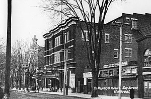 Her Majesty's Theatre, Montreal - His Majesty's Theatre, circa 1910.