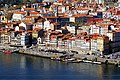 Historic buildings along the Douro River, Porto (24378865898).jpg
