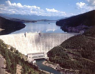 Hungry Horse Dam - Image: Hngryh 2