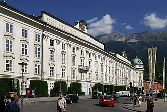 Hofburg, Innsbruck - Image: Hofburg Innsbruck 3