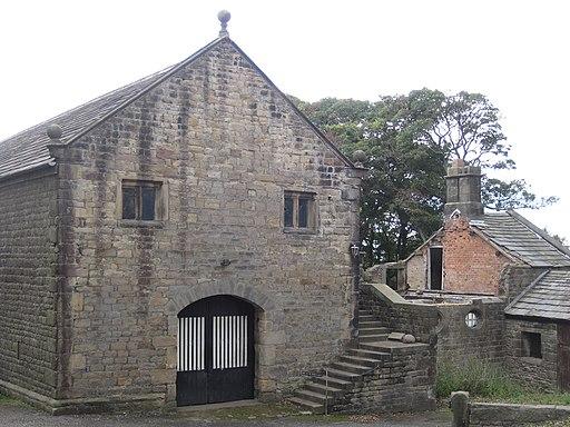 Hoghton Tower Great Barn (side view)