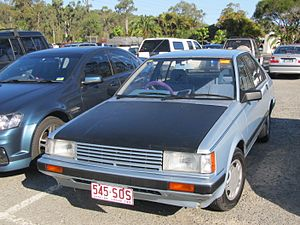 Holden Astra - 1986–1987 Holden Astra SL-X (LC)