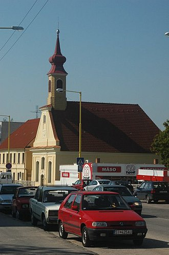 Holíč - A Lutheran church in Holíč