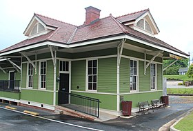 Holly Springs, Georgia train depot.jpg