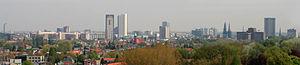 Eindhoven - Image: Hoogbouw Eindhoven overzicht