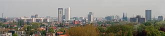 Metropoolregio Eindhoven - Image: Hoogbouw Eindhoven overzicht