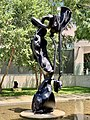 Hope sleeping - grand disguise sculpture by David Wilson at QAG, Brisbane 03.jpg