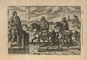 Justus Lipsius - Illustration from De militia romana libri quinque, 1596