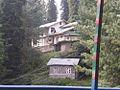 Houses in dense Jungle at Nathiagali.JPG