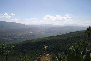 Baoruco Mountain Range - Hoyo de Pelempito, part of Sierra de Bahoruco