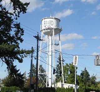 Hubbard, Oregon City in Oregon, United States