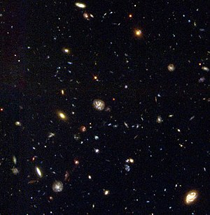 Hubble Deep Field South - The Hubble Deep Field South. Credit: NASA/ESA. ISOHDFS 27 is on the bottom right.