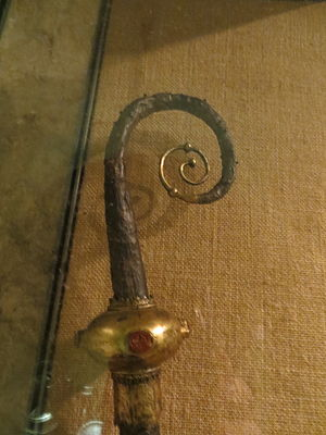 Hubert Walter - Head of Walter's crozier that was discovered in his tomb in 1890