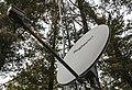 HughesNet Satellite Internet Dish at Rural Cabin (42696447671).jpg
