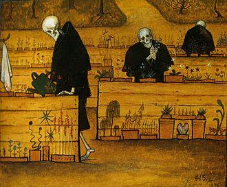 The Garden of Death - Image: Hugo Simberg Garden of Death