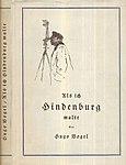 Hugo Vogel - Als ich Hindenburg malte, Ullstein 1927.jpg