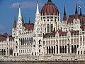 Hungarian Parliament Building from across the Danube, 2013 Budapest (486) (13227035484).jpg