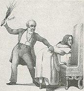Husaga (teckning av Fritz von Dardel)