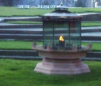 Hutatma Chowk - Amar Jyot at Hutatma Chowk