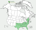 Hypericum crux-andreae US-dist-map.png