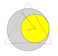 Hypotrochoid with ratio 3-2 and a=2.85.png