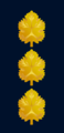 Aluf-Mishne (captain) insignia of the Israeli Navy