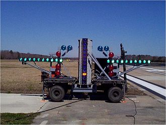 Optical landing system - IFLOLS at field