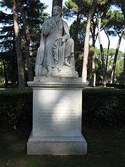 Monument to George Gordon Byron (Villa Borghese)