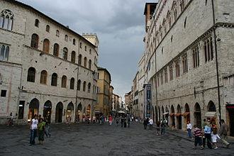 Province of Perugia - Image: IMG 0699 Perugia Corso Vannucci Foto G. Dall'Orto 5 ago 2006 02