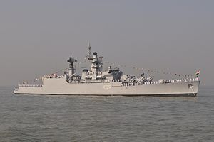 Betwa at anchor in 2011