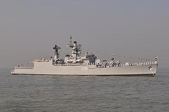 INS Betwa (F39) - Betwa at anchor in 2011