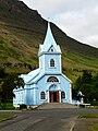 Iceland - Cross - Seyðisfjörður - Christianity - Religion - Church (4890587498).jpg