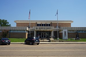 Das McCurtain County Courthouse in Idabel