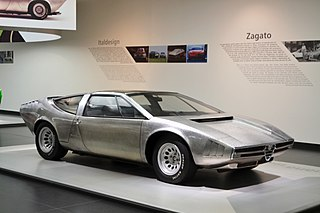 Alfa Romeo Iguana Concept car designed by Italdesign