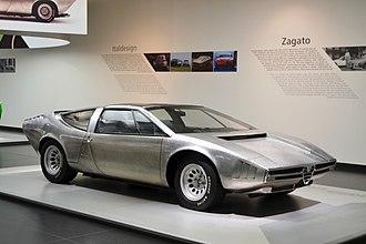 Alfa Romeo 33 Stradale - Image: Iguana 1