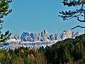 """Il """"Gruppo del Catinaccio"""" visto dalla Torbiera Woelfl (BZ) - panoramio.jpg"""